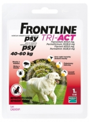 Frontline Tri-Act pro psy Spot-on XL (40-60 kg)