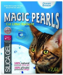 Magic Pearls Ocean Breeze kočkolit s vůní 7,6l