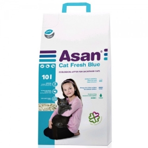 Asan Cat Fresh Blue podestýlka 10l