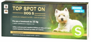 Top spot on Dog S 1x1ml (do 15kg)