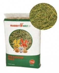 RabbbitWeed luční seno 1kg / 40 l