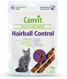 Canvit Snacks Cat Health Care Snack Hairball Control 100g