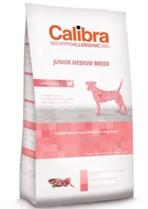 Calibra Dog HA Junior Medium Breed Lamb 14 kg