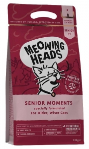 MEOWING HEADS Senior Moments 1,5kg