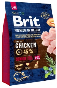 Brit Premium Dog by Nature Senior L+XL 3kg