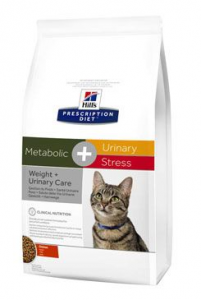 Hill's Feline Dry Adult Metabolic + Urinary Stress Dry 1,5kg
