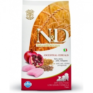 N&D Low Grain Dog Puppy Mini Chicken&Pomegranate 800g
