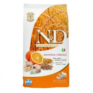 N&D Low Grain Dog Adult Codfish&Orange 2,5kg