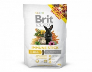 Brit Animals Immune Stick for Rodents pamlsek pro hlodavce 80g