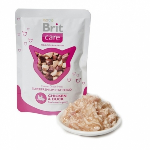 Brit Care Cat kapsička Chicken & Duck 80 g