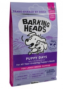 BARKING HEADS Puppy Days (Large Breed)18kg