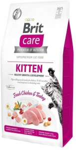 Brit Care Cat Grain-Free Kitten Healthy Growth & Development 7kg