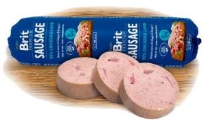 Brit Sausage Chicken and Lamb 800g