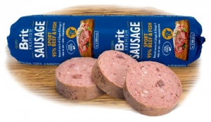 Brit Sausage Beef and Fish Sport formula 800g