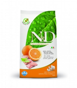 N&D Grain Free Dog Adult Fish&Orange 800g