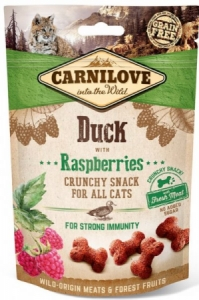Carnilove Cat Crunchy Snack Duck with Raspberries 50g