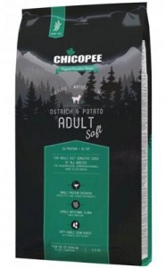Chicopee Holistic Soft Adult Ostrich-Potato 2kg