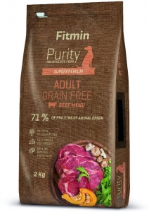 Fitmin dog Purity GF Adult Beef 2 kg