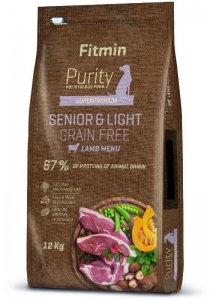 Fitmin dog Purity GF Senior & Light Lamb 12kg