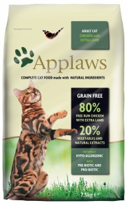 Applaws Cat Adult Chicken & Lamb 7,5kg