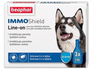Beaphar Line-on IMMO Shield pes M 3x3ml