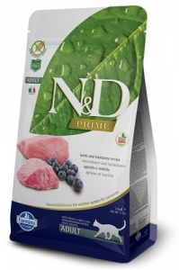 N&D PRIME CAT Adult Lamb & Blueberry 300g