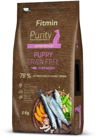 Fitmin dog Purity GF Puppy Fish 2kg