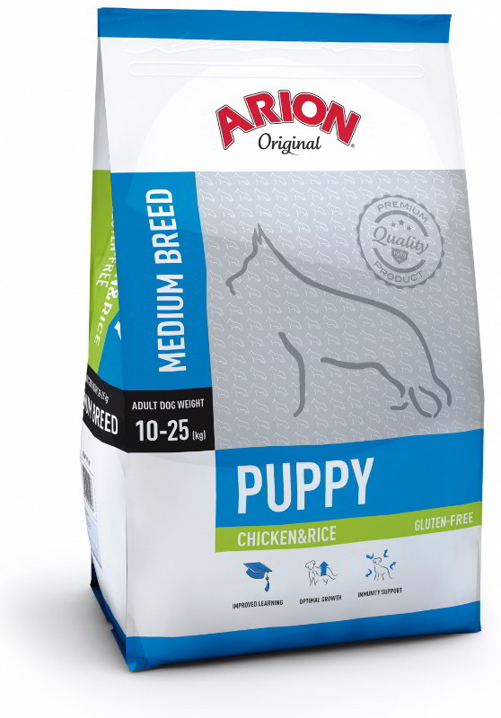 Arion Dog Original Puppy Medium Chicken Rice 3kg