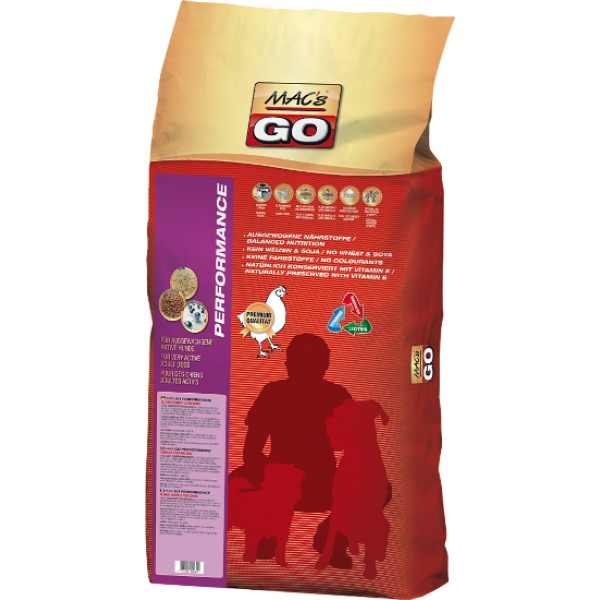 Dry MACs Dog GO Adult Performance 2kg