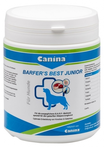 Canina Barfer's Best Junior 850g