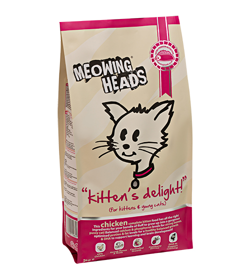 Meowing Heads Kittens Delight 1,5kg