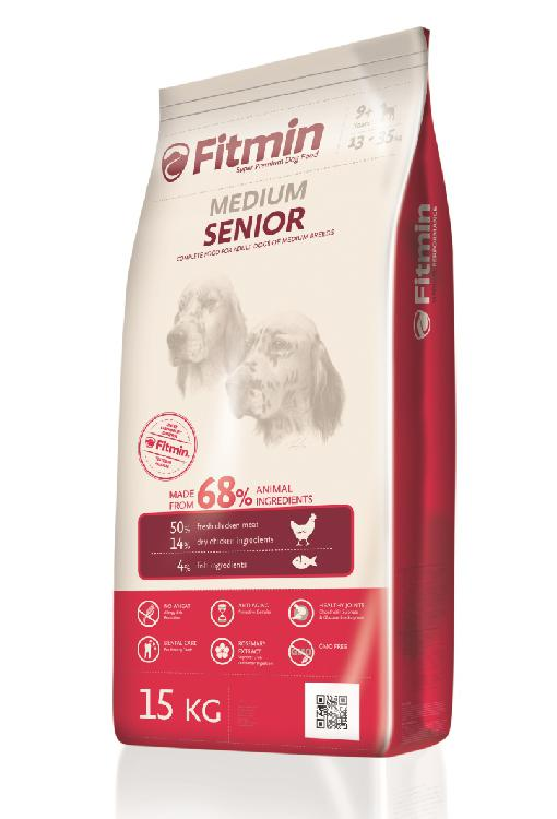 Fitmin Medium Senior 15kg