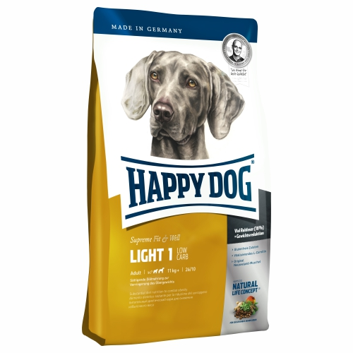 Happy Dog Supreme Fit&Well Light 1 Low Carb 12,5kg