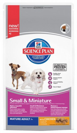Hill's Canine Dry Mature Adult Small Miniature 1,5 kg
