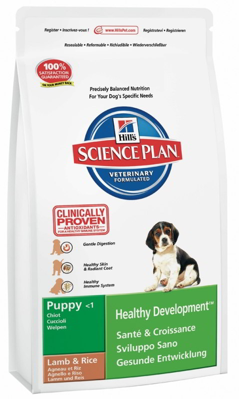 Hill's Canine Dry Puppy Growth Lamb&Rice 12 kg