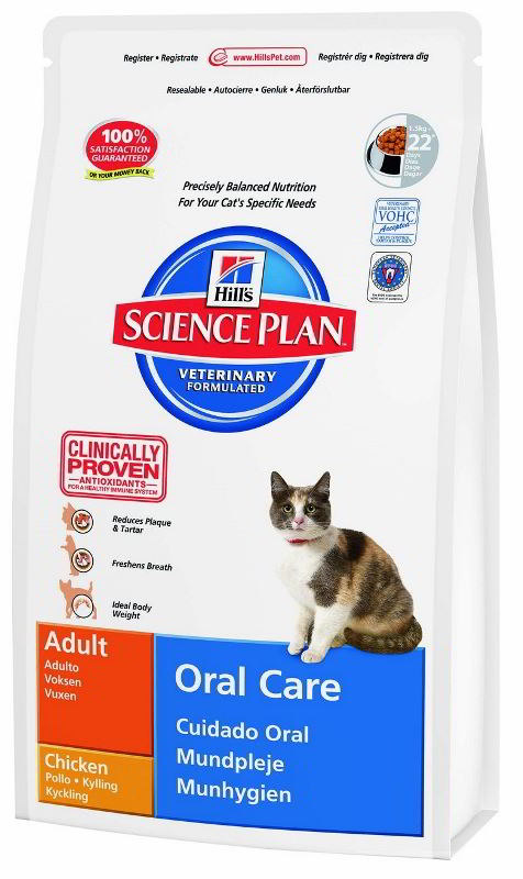 Hill's Feline Adult Oral Care 5 kg