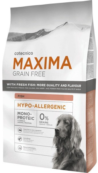 Maxima Dog Grain Free Adult Hypo-Allergenic Fish 14kg