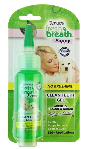 TropiClean Clean Teeth Gel pro štěňata 59ml