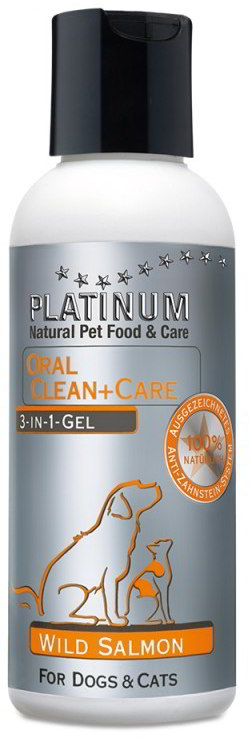 Platinum Natural Oral Clean&Care SALMON GEL 120ml