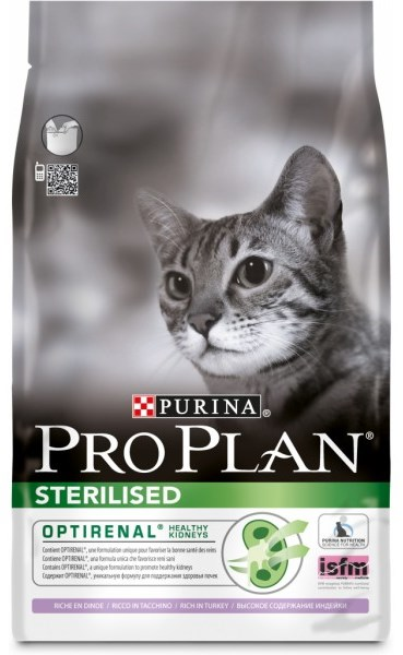 Pro Plan Cat Sterilised Turkey 1,5kg