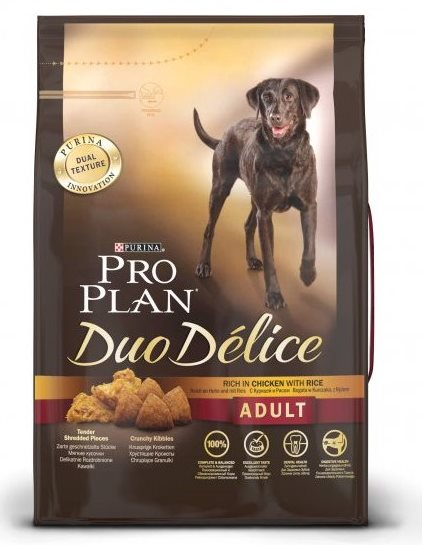 Pro Plan Dog Adult Duo Délice Chicken 2,5kg