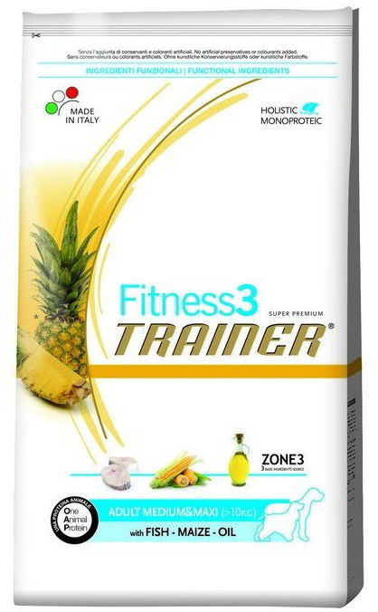 Trainer Fitness Adult M/M Salmon Maize 3kg