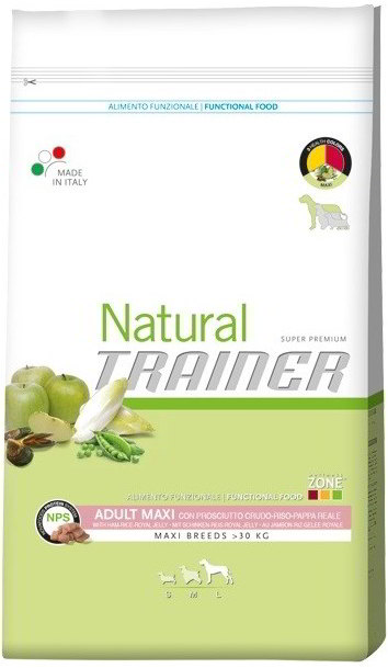 Trainer Natural Adult Maxi Cured Ham 12,5kg