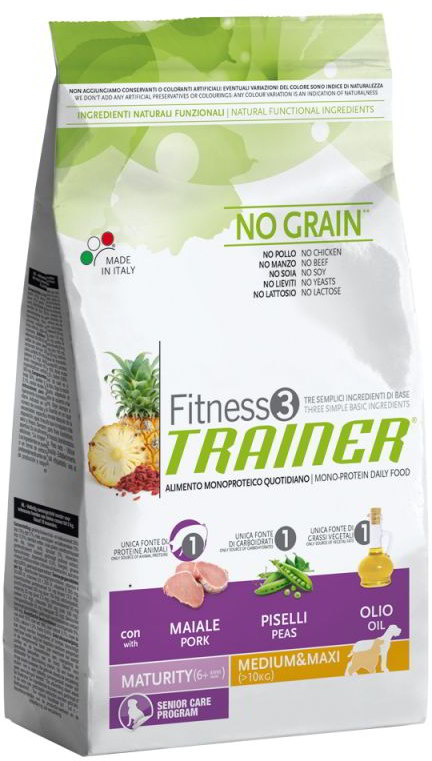 Trainer Fitness Adult Medium/Maxi Maturity 12,5kg